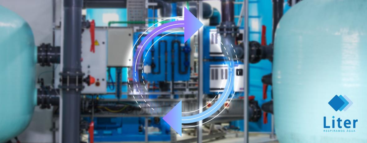 como calcular o ciclo de um abrandador de água